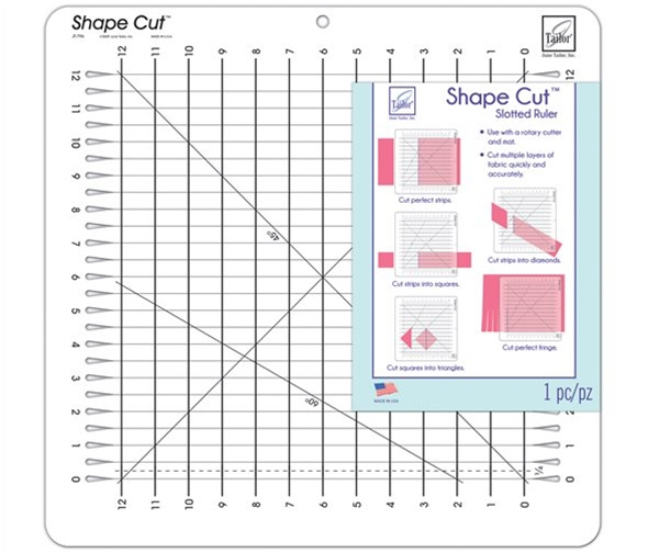 June Tailor Shape Cut Rulers Amp Templates Special